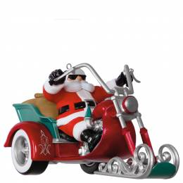 Hallmark Leader of the Pack Motorcycle Musical Ornament