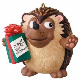 Hallmark U Can't Touch This Hedgehog Musical Ornament