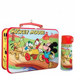 Hallmark Disney Mickey and Friends Mickey Mouse Lunchbox and Thermos Ornaments, Set of 2