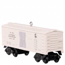 Hallmark LIONEL 3472 Automatic Refrigerated Milk Car Ornament