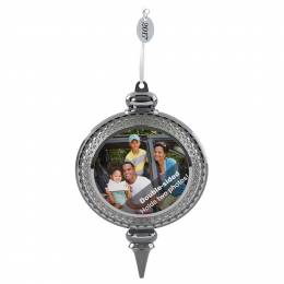 Hallmark A Beautiful Year Two-Sided Picture Frame Ornament