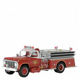 Hallmark Fire Brigade 1979 Ford F-700 Fire Engine Ornament With Light