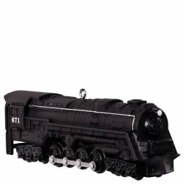 Hallmark LIONEL Trains 671 S-2 Turbine Steam Locomotive Ornament