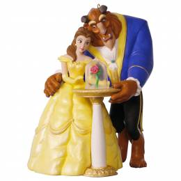 Hallmark Disney Beauty and the Beast Tale as Old as Time Ornament With Light and Music