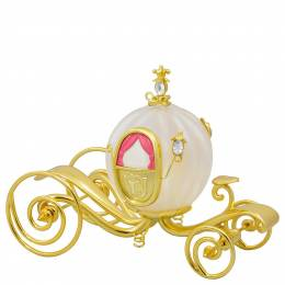 Hallmark Disney Cinderella's Carriage Glass and Metal Ornament