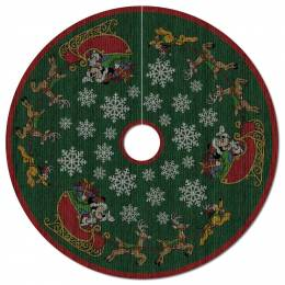 Hallmark Mickey Mouse Oh, What Fun! Tree Skirt With Light
