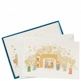Hallmark UNICEF Colorful Nativity Christmas Cards, Box of 12
