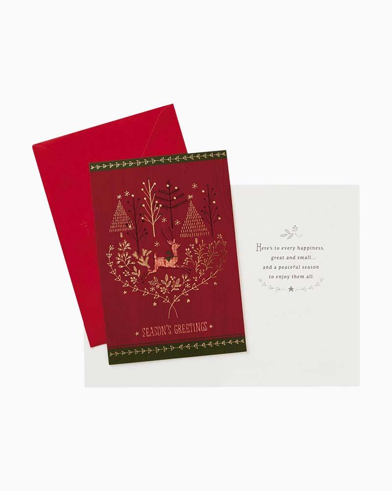 Hallmark A Peaceful Seasons Greetings Christmas Cards Box Of 16