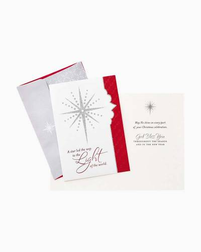 Light of the World Religious Christmas Cards, Box of 16