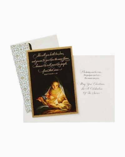 Celebration of the Savior Religious Christmas Cards, Box of 16