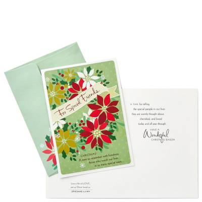 For Special Friends Religious Christmas Cards, Box of 16