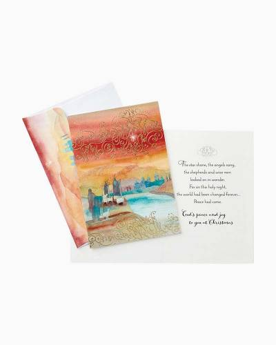 Shepherds at Night Christmas Cards, Box of 16