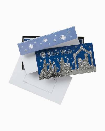 Silent Night Religious Christmas Cards, Box of 16