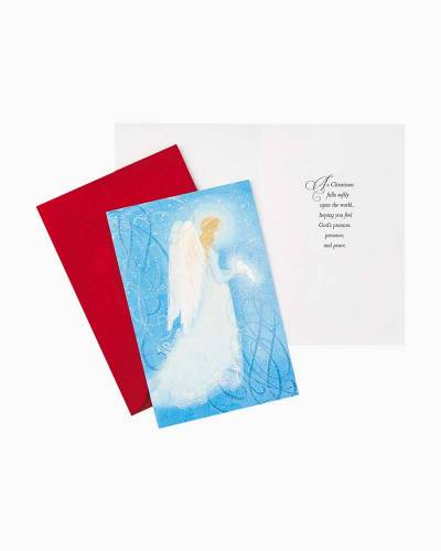 Angel With Dove Value Christmas Cards, Box of 40