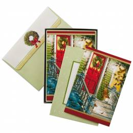Hallmark Red Door Christmas Cards, Box of 16