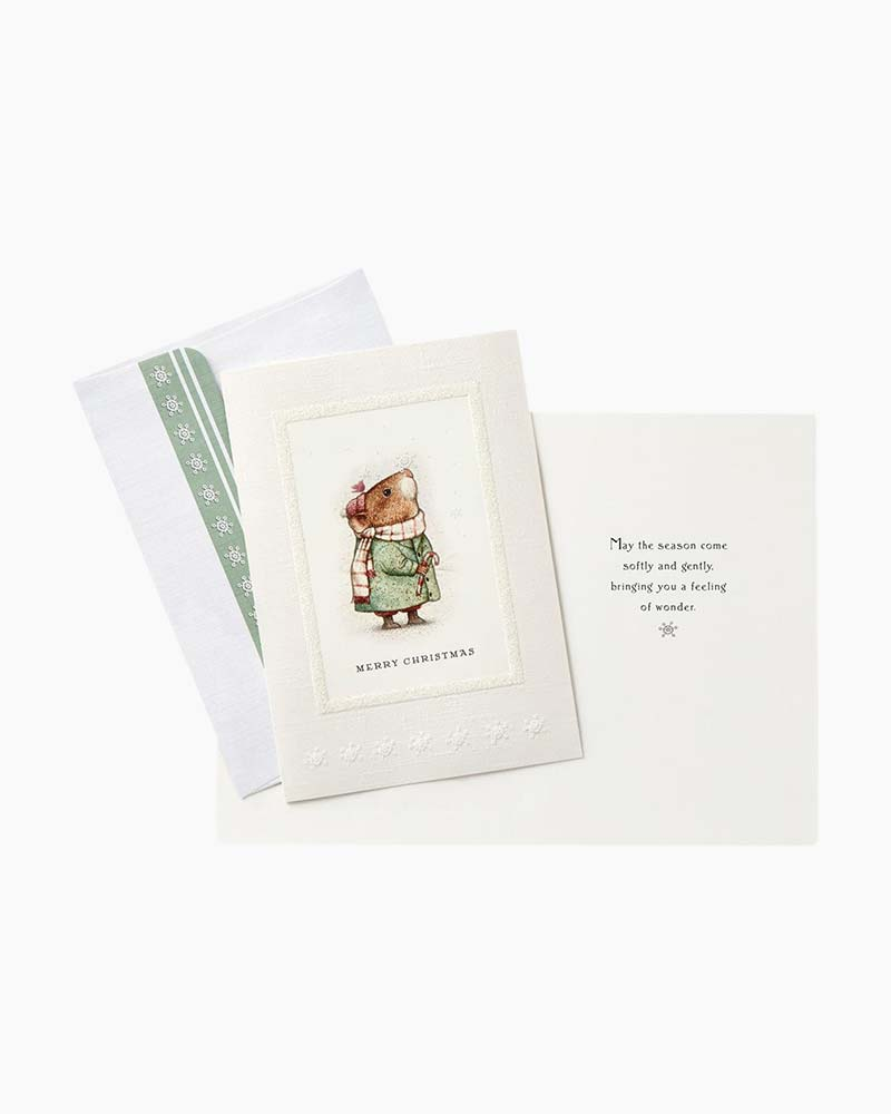 Hallmark Storybook Mouse Christmas Cards Box Of 16 The Paper Store