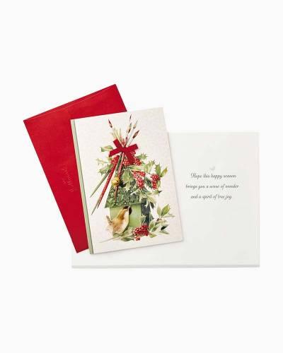 Marjolein Bastin Winter Birdhouse Christmas Cards, Box of 12
