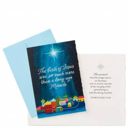 Hallmark Birth of Jesus Christmas Cards, Box of 12