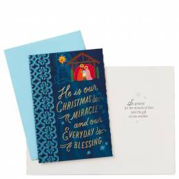 Hallmark Everyday Blessing Christmas Cards, Box of 12