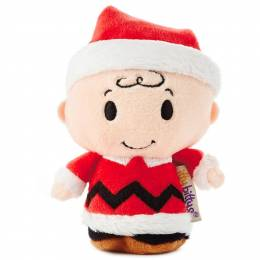 Hallmark Peanuts Charlie Brown Holiday itty bittys Stuffed Animal Limited Edition