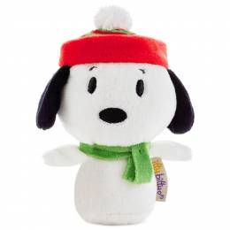 Hallmark Peanuts Snoopy Holiday itty bittys Stuffed Animal Limited Edition