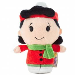 Hallmark Peanuts Lucy Holiday itty bittys Stuffed Animal Limited Edition