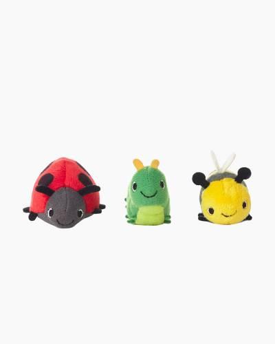 Happy Go Luckys Bug Buddies Mini Stuffed Animals (Set of 3)