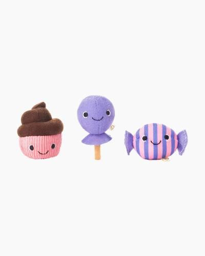 Happy Go Luckys Sweet Treats Mini Stuffed Animals (Set of 3)
