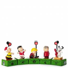 Hallmark Peanuts Christmas Dance Party Figurines With Music and Motion
