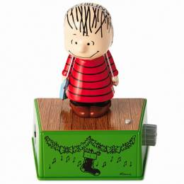 Hallmark Peanuts Linus Christmas Dance Party Figurine With Music and Motion