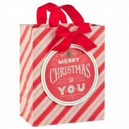 Hallmark Merry Christmas to You Large Christmas Gift Bag, 13