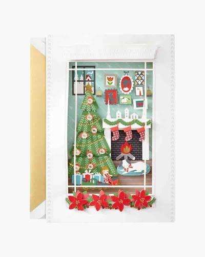 Warm, Wonderful Christmas Card