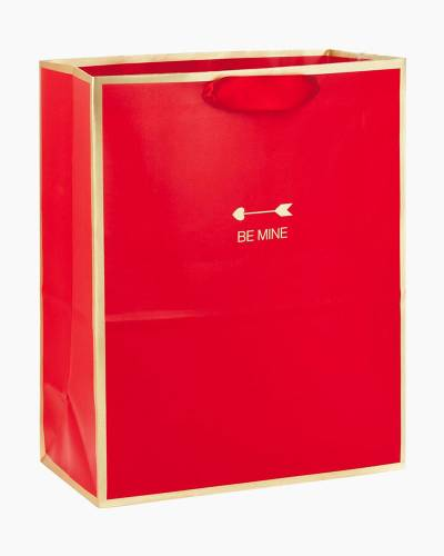 Red Be Mine Large Gift Bag, 13""