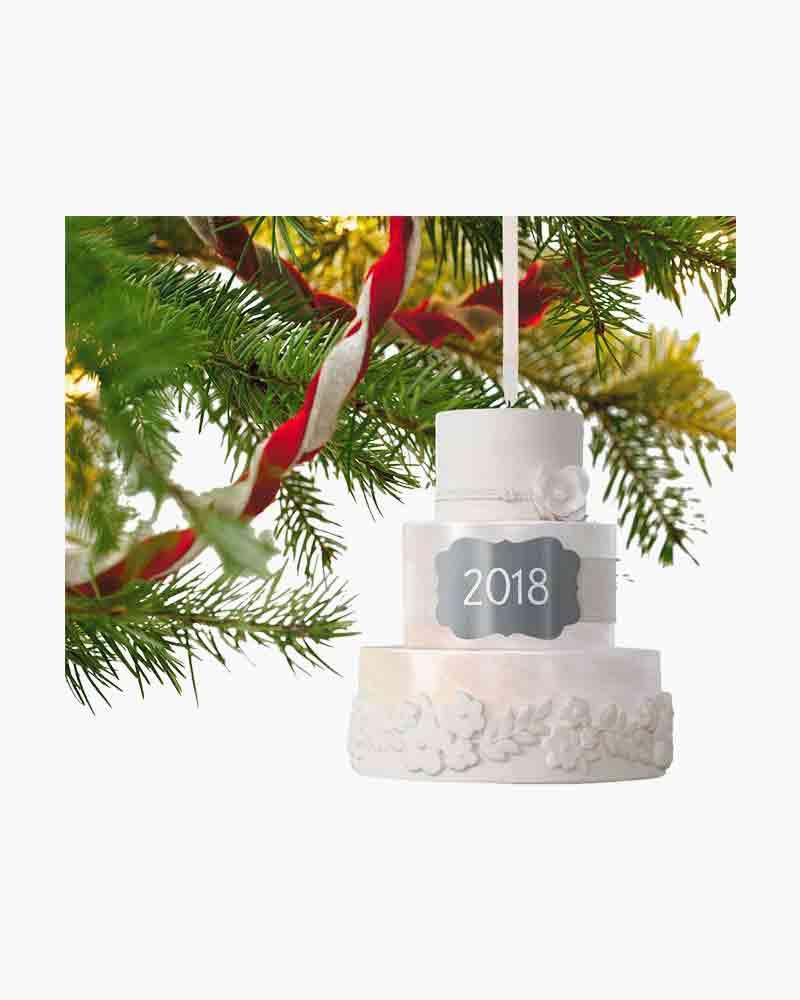 Hallmark Keepsake Christmas Ornament 2018 Year Dated Wedding Gift ...
