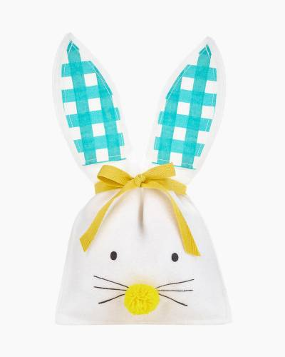 Easter Bunny Small Fabric Gift Bag, 11.5""
