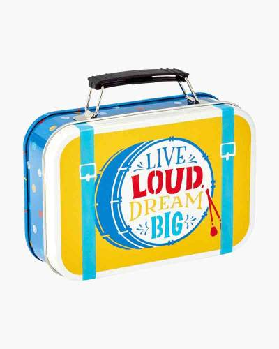 Live Loud, Dream Big Gift Card Holder Tin