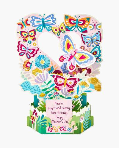 Wonderfolds Bright and Breezy Mother's Day Pop-Up Card (Anyone)