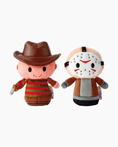 itty bittys Freddy vs. Jason Freddy Krueger and Jason Voorhees Stuffed Animals, Set of 2