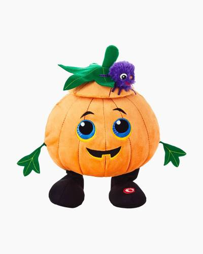 Jack-o'-Lantern Musical Stuffed Animal With Motion, 10.25""