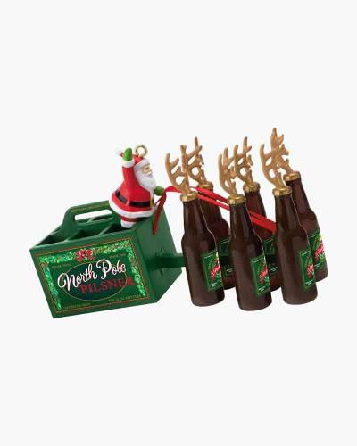Santa's Reinbeer Ornament
