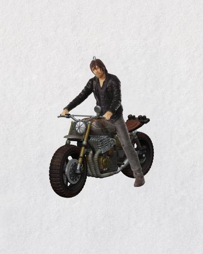 The Walking Dead Daryl Rides Again Ornament