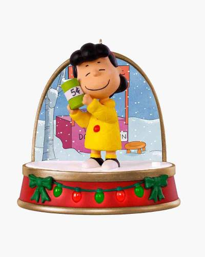 A Charlie Brown Christmas Lucy Ornament With Sound and Light