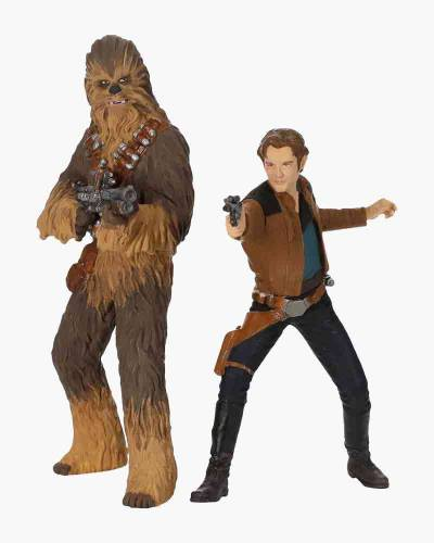 Solo: A Star Wars Story Han Solo and Chewbacca Ornaments, Set of 2
