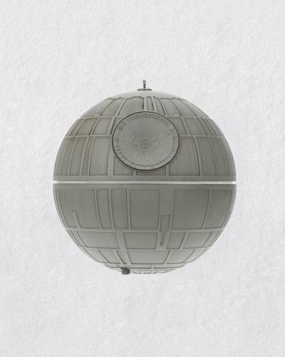 Star Wars Death Star Ornament With Light and Sound