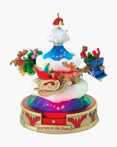 Christmas Carnival Journey to the Stars Musical Ornament With Light and Motion