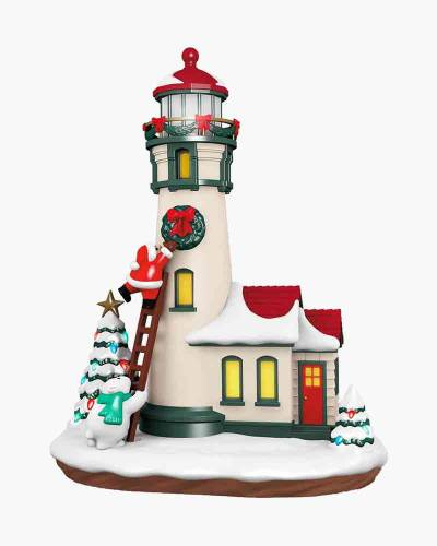Luminous Lighthouse Musical Table Decoration With Light