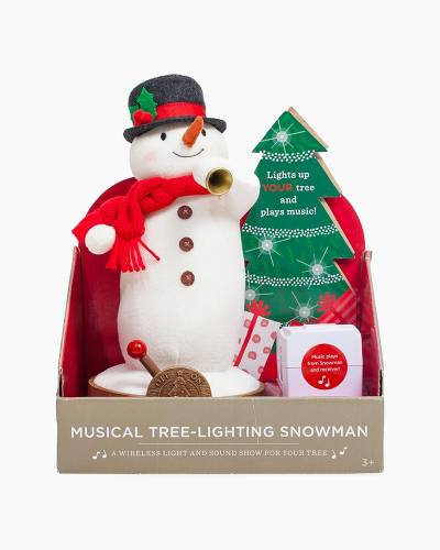 Musical Tree-Lighting Snowman and Receiver