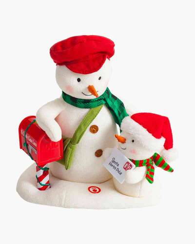 Special Delivery Snowmen Musical Stuffed Animal With Light and Motion