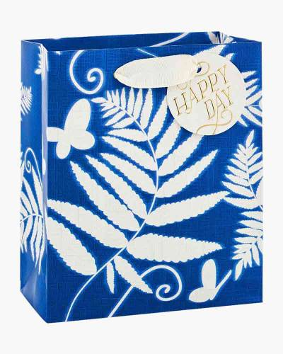 Blue Fern Small Gift Bag
