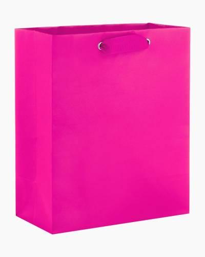 Hot Pink Medium Gift Bag